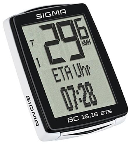 Fahrradcomputer SIGMA BC 16.16 - ohne Trittfrequenz