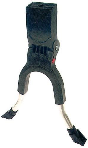 Zweibeinständer HEBIE Lite - silber - Normallänge-breite Ausführung