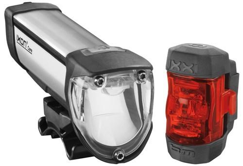 Batteriescheinwerfer-Set B+M IXON CORE & IXXI