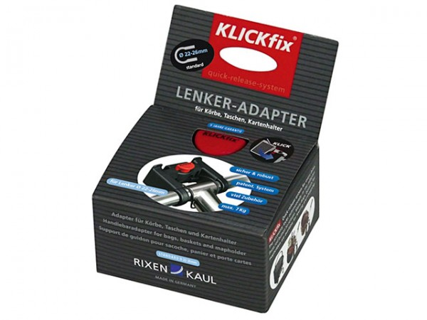 Rixen & Kaul KLICKfix Lenkeradapter standard Ø 22-26mm