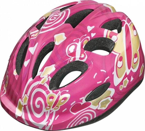 Helm ABUS SMILEY Größe S Pearly Pink