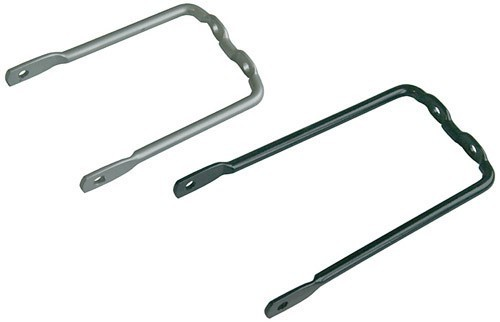 Gepäckträger-Adapter Büchel U-Form - 130 mm silber